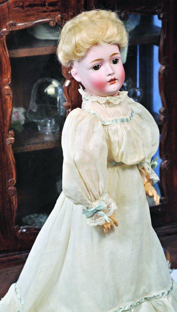 4: BEAUTIFUL KESTNER BISQUE LADY DOLL.  Marks:  N. made