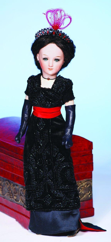 20: GERMAN BISQUE LADY DOLL BY CUNO & OTTO DRESSEL.  Ma
