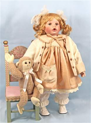 PALMARY COLLECTION THREE HEART DOLL