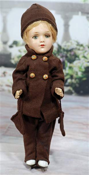 COMPOSITION MARY HOYER DOLL AS BOY