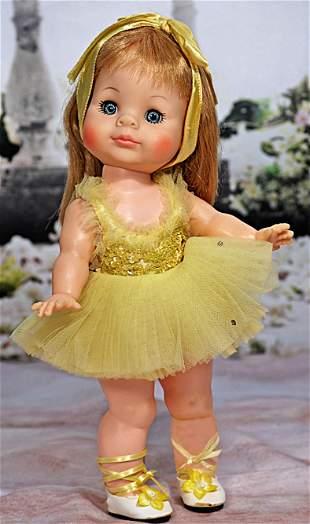"ALEXANDER ""JANIE"" IN YELLOW BALLET COSTUME"