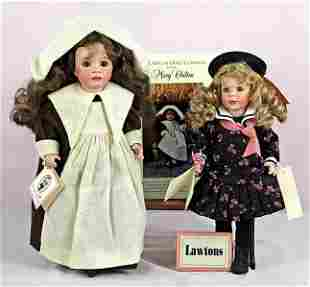 """LAWTON LOGO DOLL AND """"MARY CHILTON"""" BY WENDY LAWTON."""