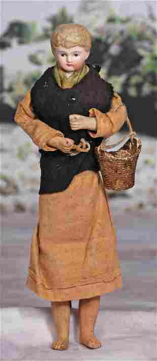 GERMAN BISQUE DOLL IN PROVINCIAL COSTUME
