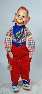 """1950S HARD PLASTIC """"HOWDY DOODY"""" BY IDEAL"""