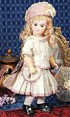 271: GERMAN BISQUE SONNEBERG DOLL FOR THE FRENCH MARKE