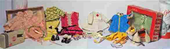 311: GROUP OF 1950'S VOGUE GINNY CLOTHING & ACCESSORIE