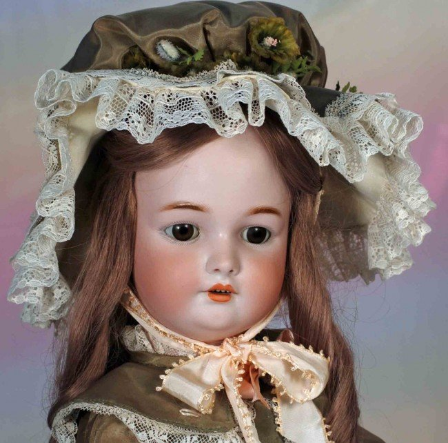 2: GERMAN BISQUE DOLL BY SIMON & HALBIG FOR C.M. BERGMA - 2