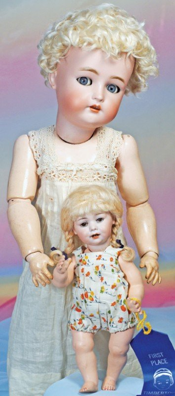 3: GERMAN BISQUE TODDLER BY MARSEILLE FOR GEORGE BORGFE
