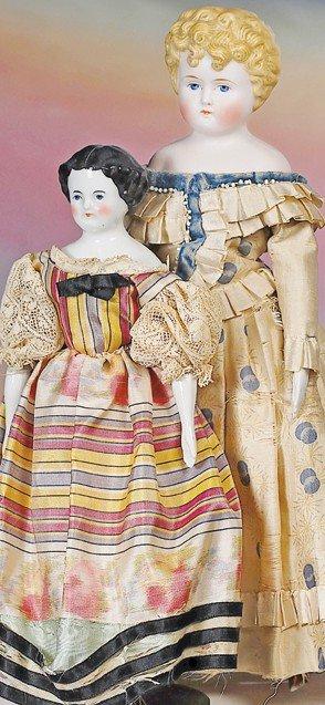 19: GERMAN BISQUE PARIAN LADY BY ALT, BECK & GOTTSCHALC