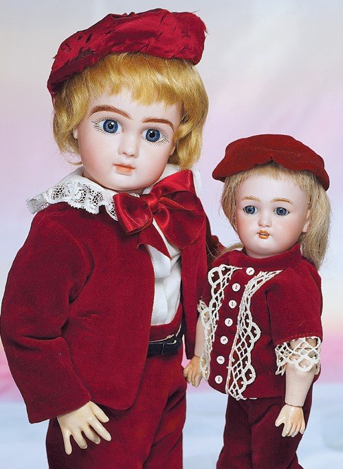 93: PETITE GERMAN BISQUE DOLL BY C.M. BERGMANN.  Marks: