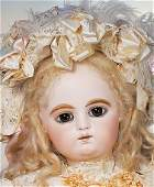 """165: FRENCH BISQUE, RARE, LARGE-SIZE """"GESLAND BEBE"""" BY"""