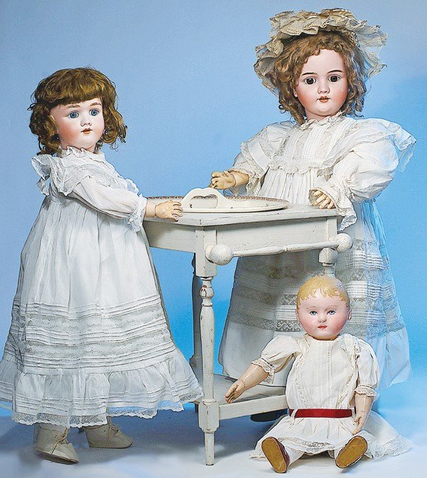 2: GERMAN BISQUE DOLL BY KLEY & HAHN