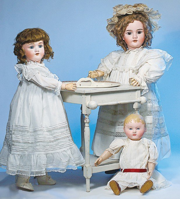 3: AMERICAN CLOTH DOLL BY MARTHA CHASE