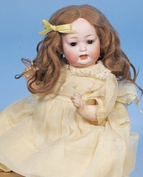 8: GERMAN BISQUE CHARACTER BABY BY KLEY & HAHN