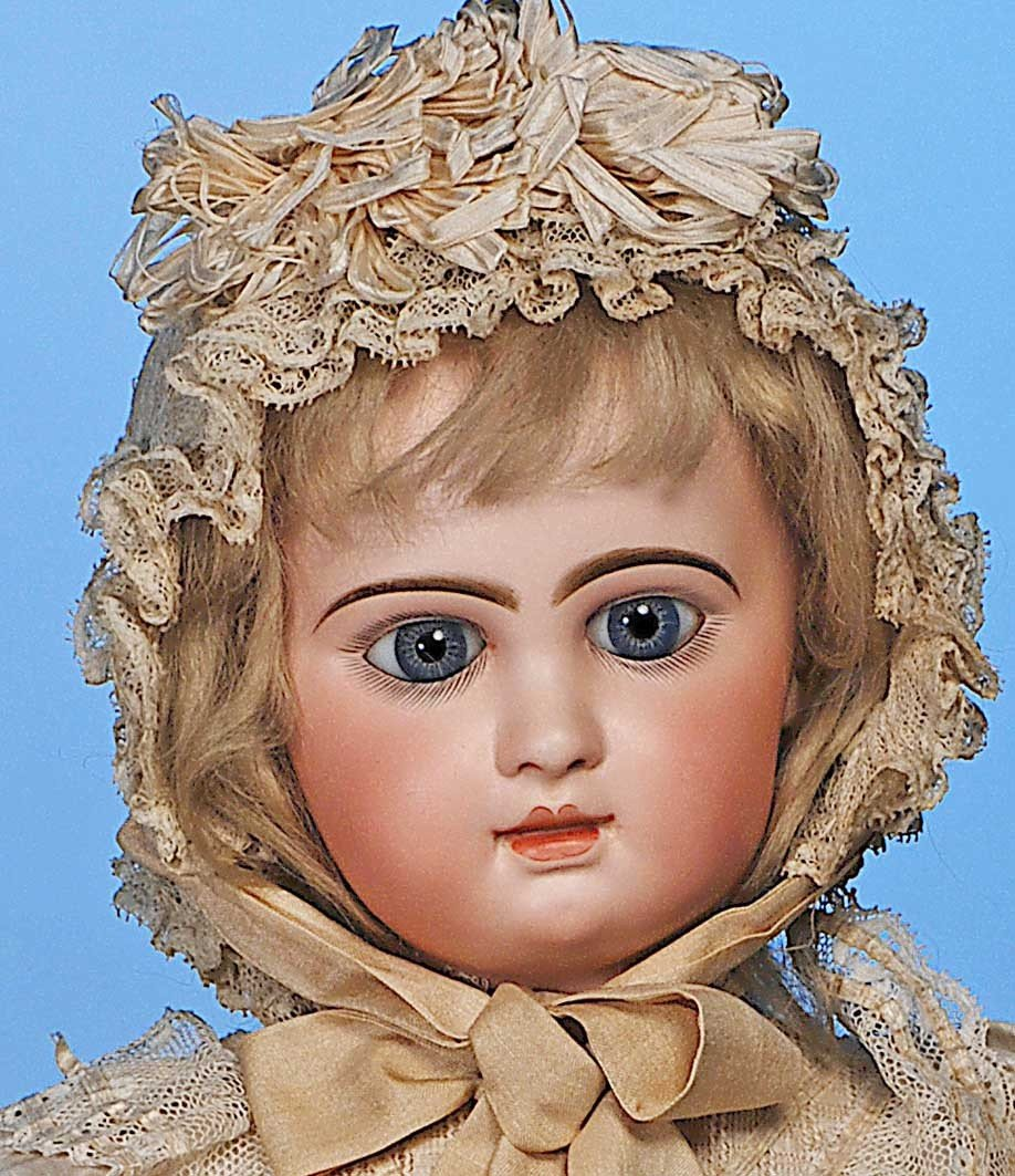 120: EMILE DOUILLET FRENCH  BEBE IN FACTORY COSTUME - 2