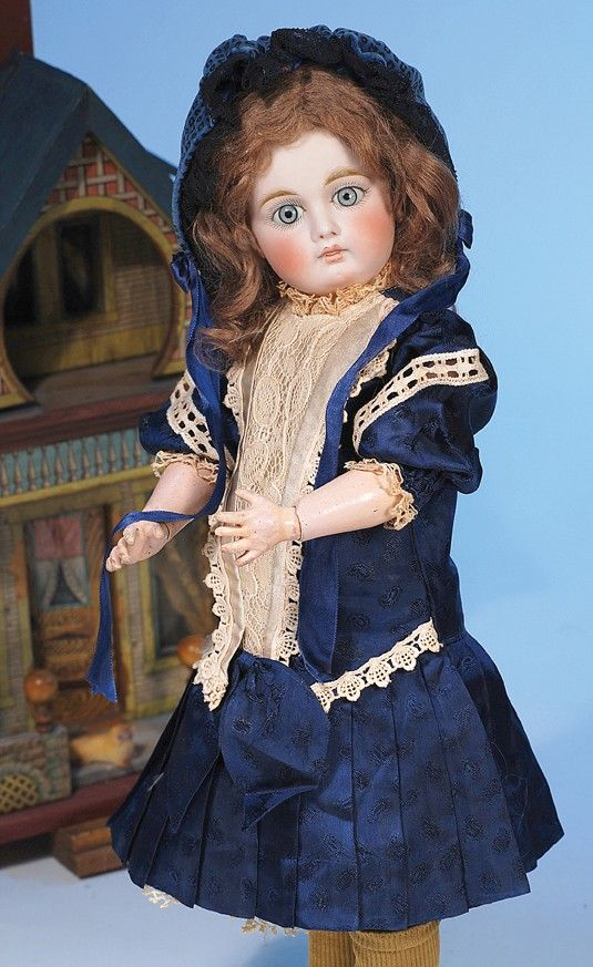 SONNENBERG BISQUE DOLL WITH CLOSED-MOUTH