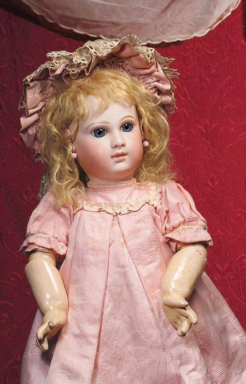 """46: EXCEPTIONAL EARLY MODEL OF JUMEAU BEBE KNOWN AS """"PO"""