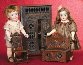 FRENCH BISQUE TODDLER BY S.F.B.J.  Marks:  SFBJ 236