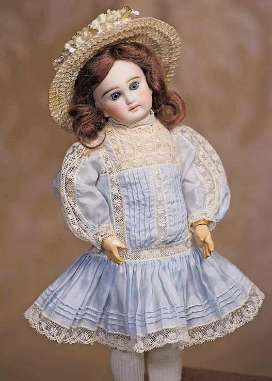 11: FRENCH-TYPE BELTON BISQUE DOLL