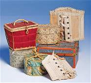 """445: DOLL ACCESSORY GROUP. Includes: 9"""" cotton corset"""