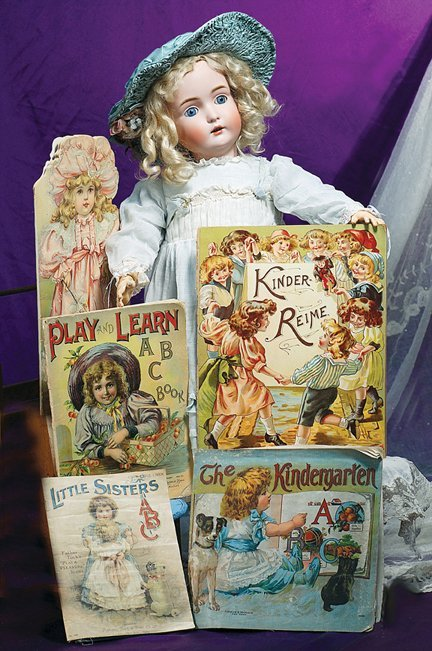 16: FIVE ANTIQUE VICTORIAN STORYBOOKS