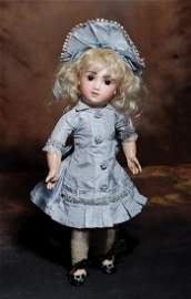 """ENCHANTING """"A.T."""" FRENCH BISQUE BEBE BY THULLIER."""
