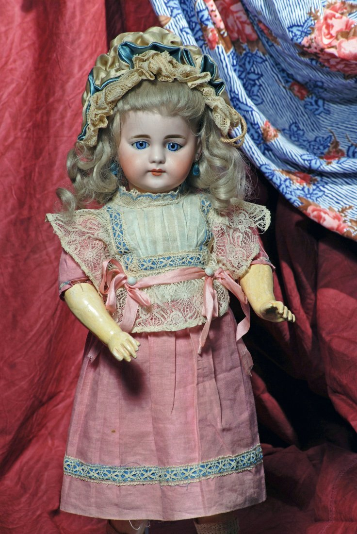 GERMAN BISQUE CHILD, 719 BY SIMON AND HALBIG FOR THE