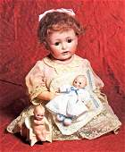 GERMAN BISQUE KEWPIE GOVERNOR  Marks C black stamp