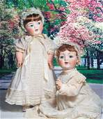 GRANDSIZE GERMAN BISQUE CHARACTER BABY BY KAMMER AND