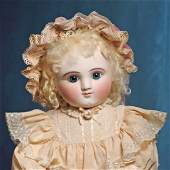 RARE LARGE SIZE FRENCH BISQUE STEINER BEBE, FIGURE A.