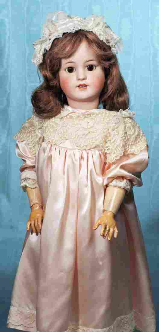 GERMAN BISQUE DOLL BY SIMON & HALBIG. Marks: 550