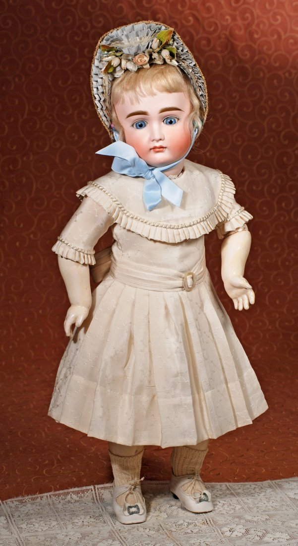 VERY LOVELY EARLY CLOSED-MOUTH DOLL BY KESTNER