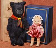 R JOHN WRIGHT U F D C SOUVENIR TEDDY BEAR