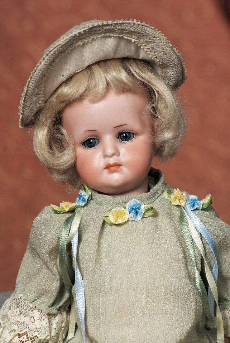 VERY RARE GERMAN BISQUE CHARACTER, MODEL 700, BY
