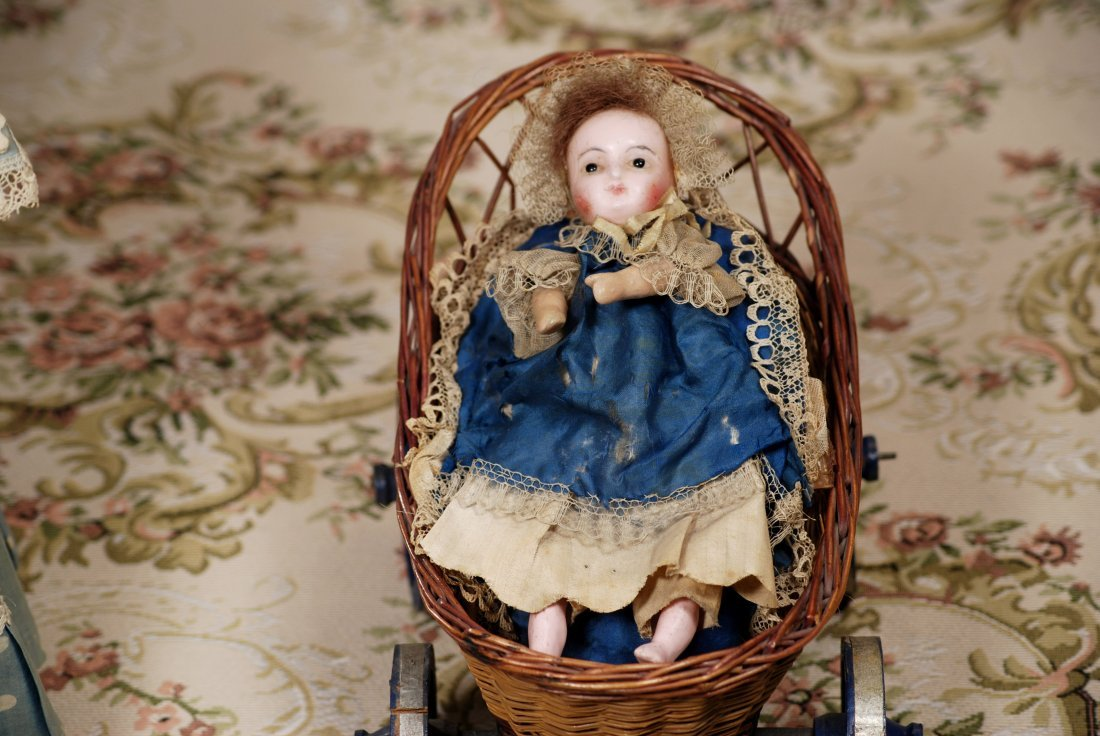 GERMAN WAX INFANT PULL TOY - 2