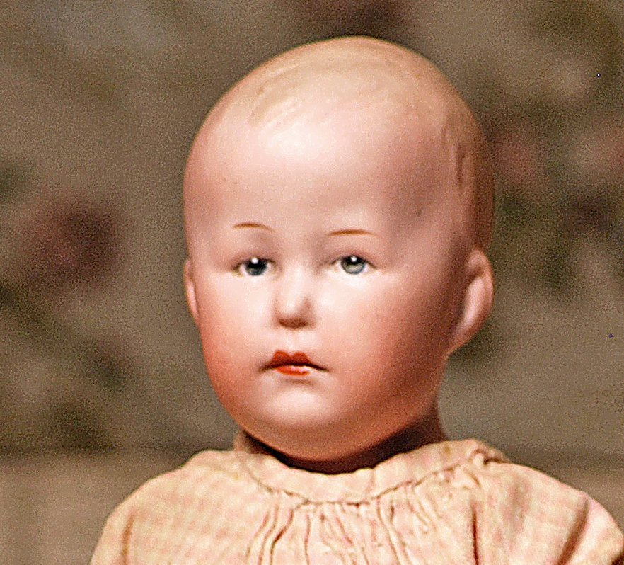 GERMAN BISQUE CHARACTER BOY BY GEBRUDER HEUBACH - 2
