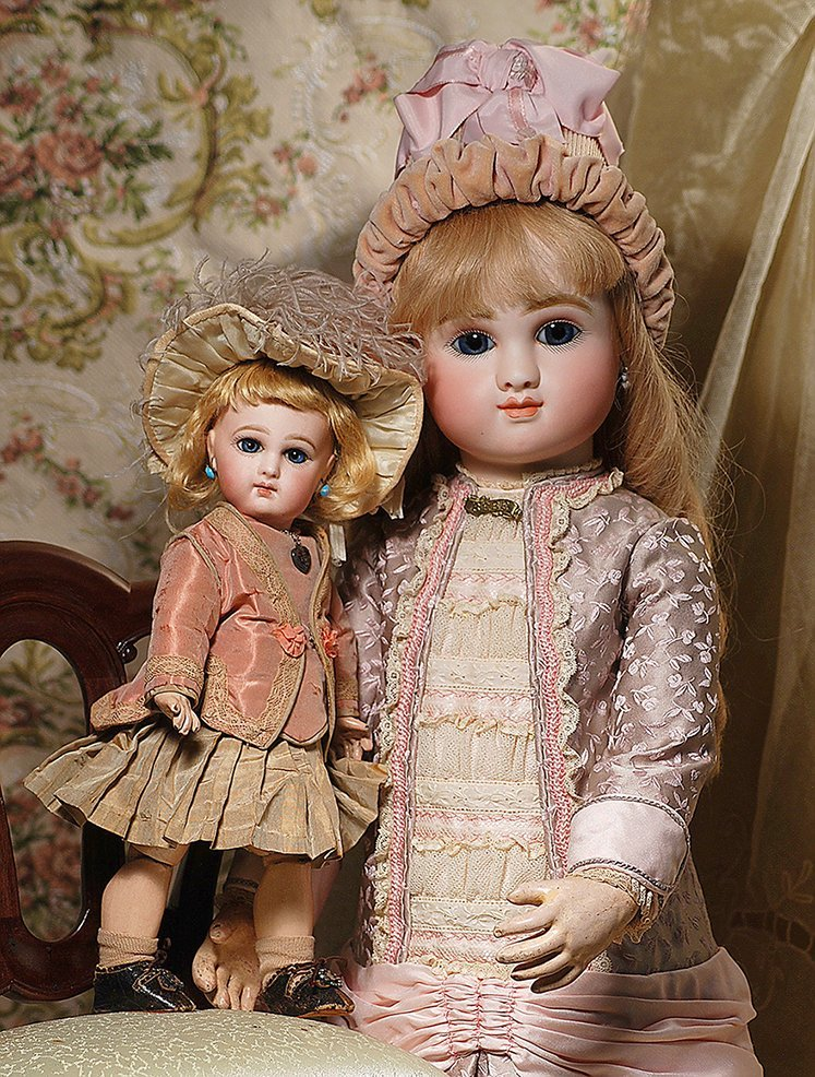 """EARLY FRENCH BISQUE """"INCISED DEPOSE BEBE"""" BY JUMEAU"""