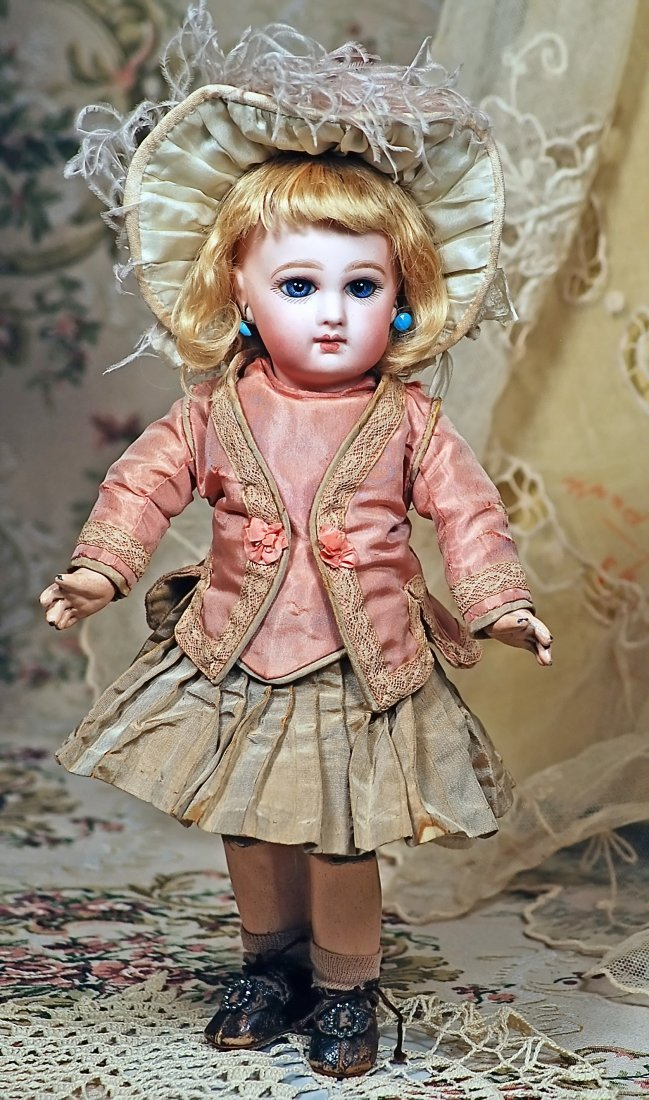"""EARLY FRENCH BISQUE """"INCISED DEPOSE BEBE"""" BY JUMEAU - 3"""
