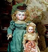SONNEBERG BRU-LOOK BISQUE DOLL FOR THE FRENCH MARKET