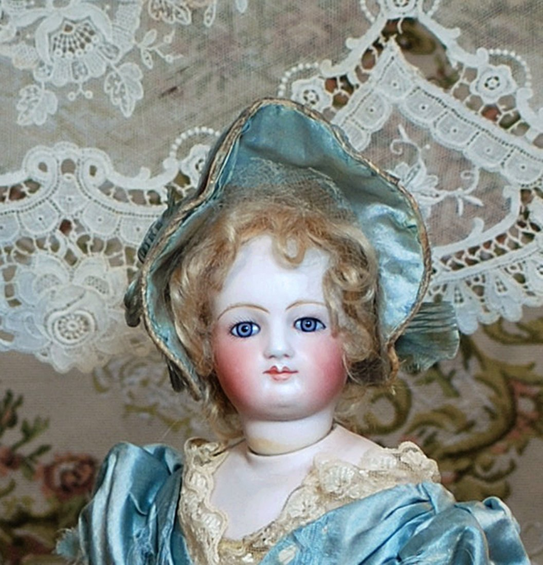 VERY RARE FRENCH BISQUE POUPEE ATTRIBUTED TO BLAMPOIX - 2