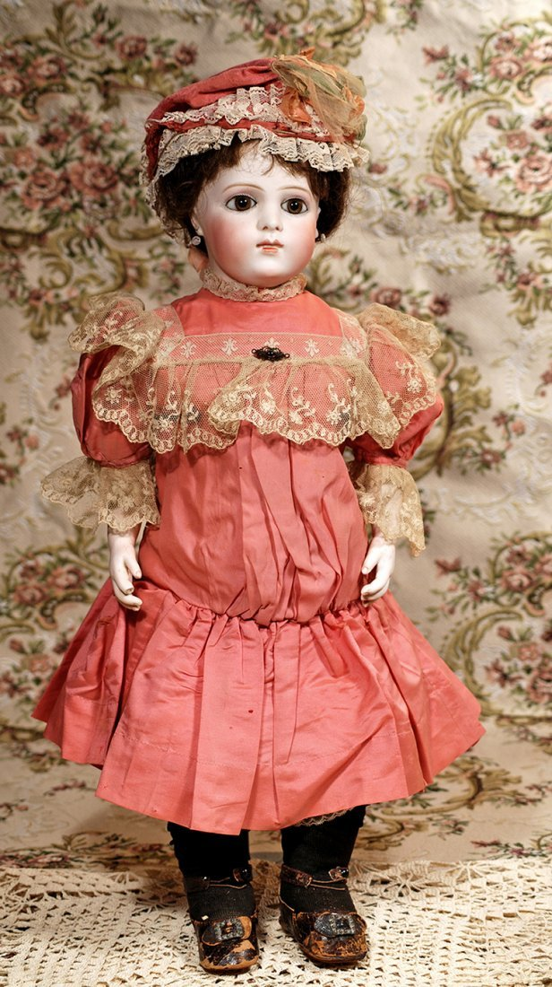 FRENCH BISQUE BEBE BREVETE BY LEON CASIMIR BRU IN RARE