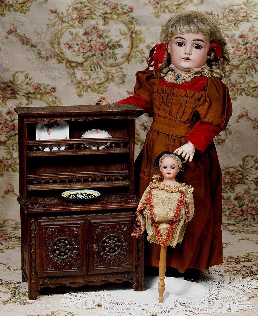 GERMAN BISQUE, ALL-ORIGINAL DOLL BY KESTNER