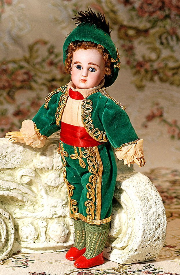PETITE FRENCH BISQUE BEBE IN TOREADOR COSTUME BY JULES