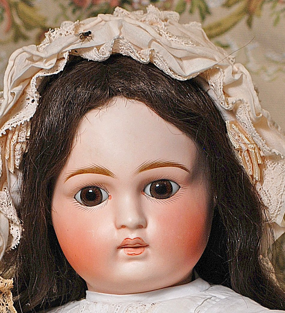 LARGE SONNEBERG BISQUE BELTON-TYPE DOLL FOR THE FRENCH - 2