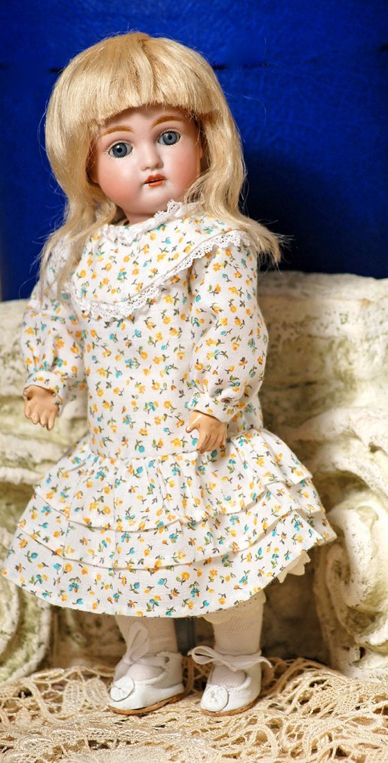 PETITE KESTNER BISQUE DOLL, MODEL 164