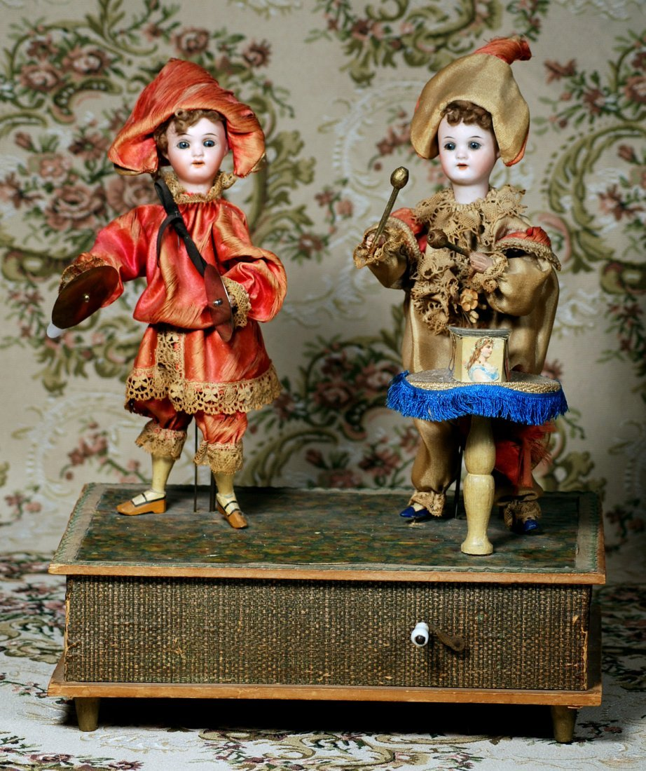"""GERMAN HAND-WIND MECHANICAL TOY """"THE LITTLE MUSICIANS"""" - 2"""