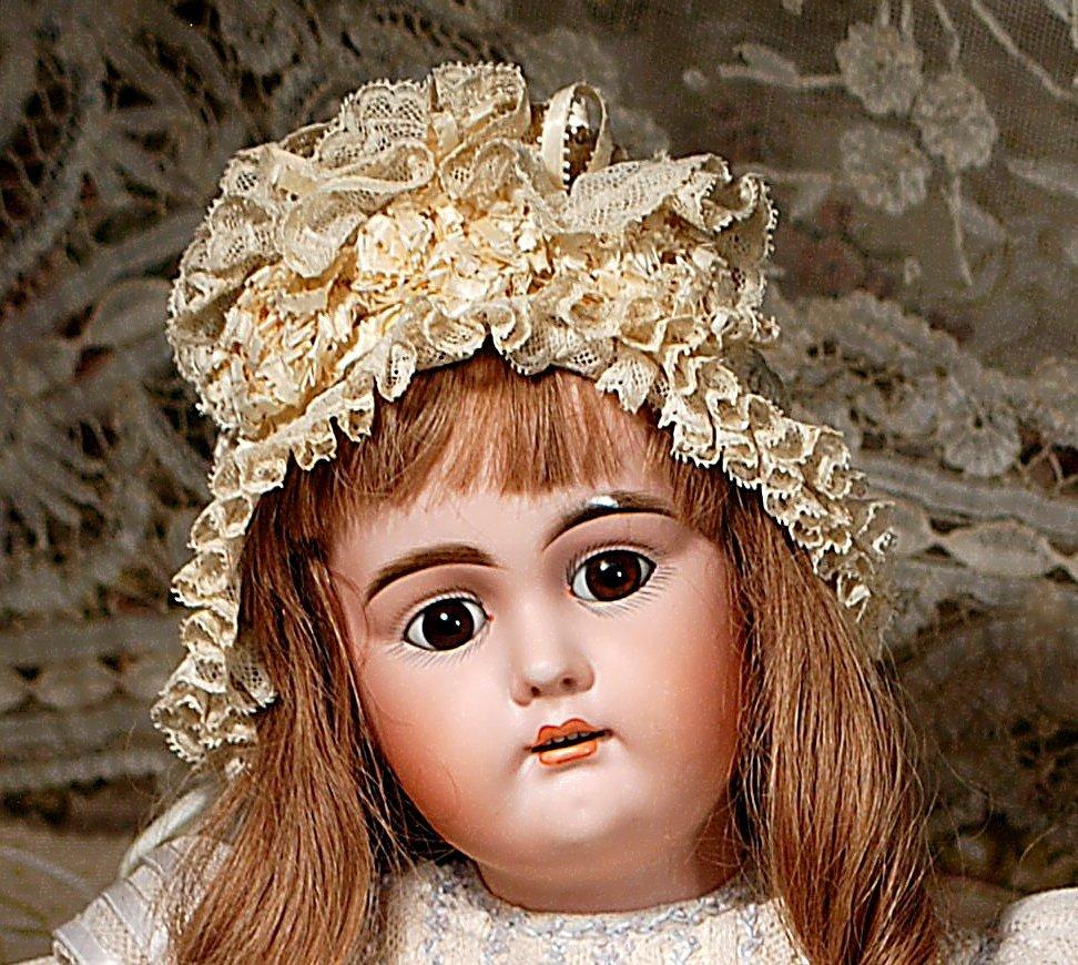 PRETTY GERMAN BISQUE CHILD BY BAHR & PROSCHILD - 3