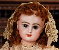 RARE AND BEAUTIFUL, SIZE ONE, FRENCH BEBE MASCOTTE BY