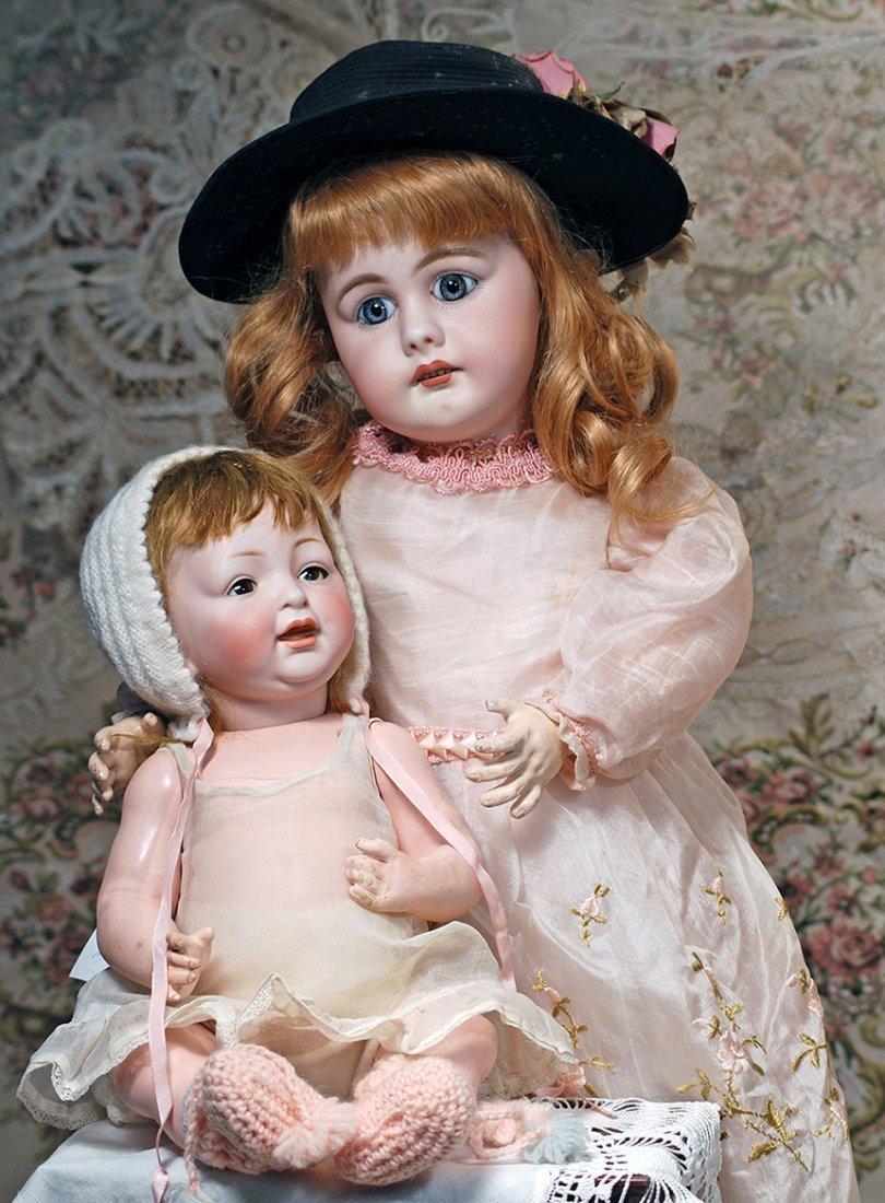 GERMAN BISQUE CHARACTER BABY BY KESTNER