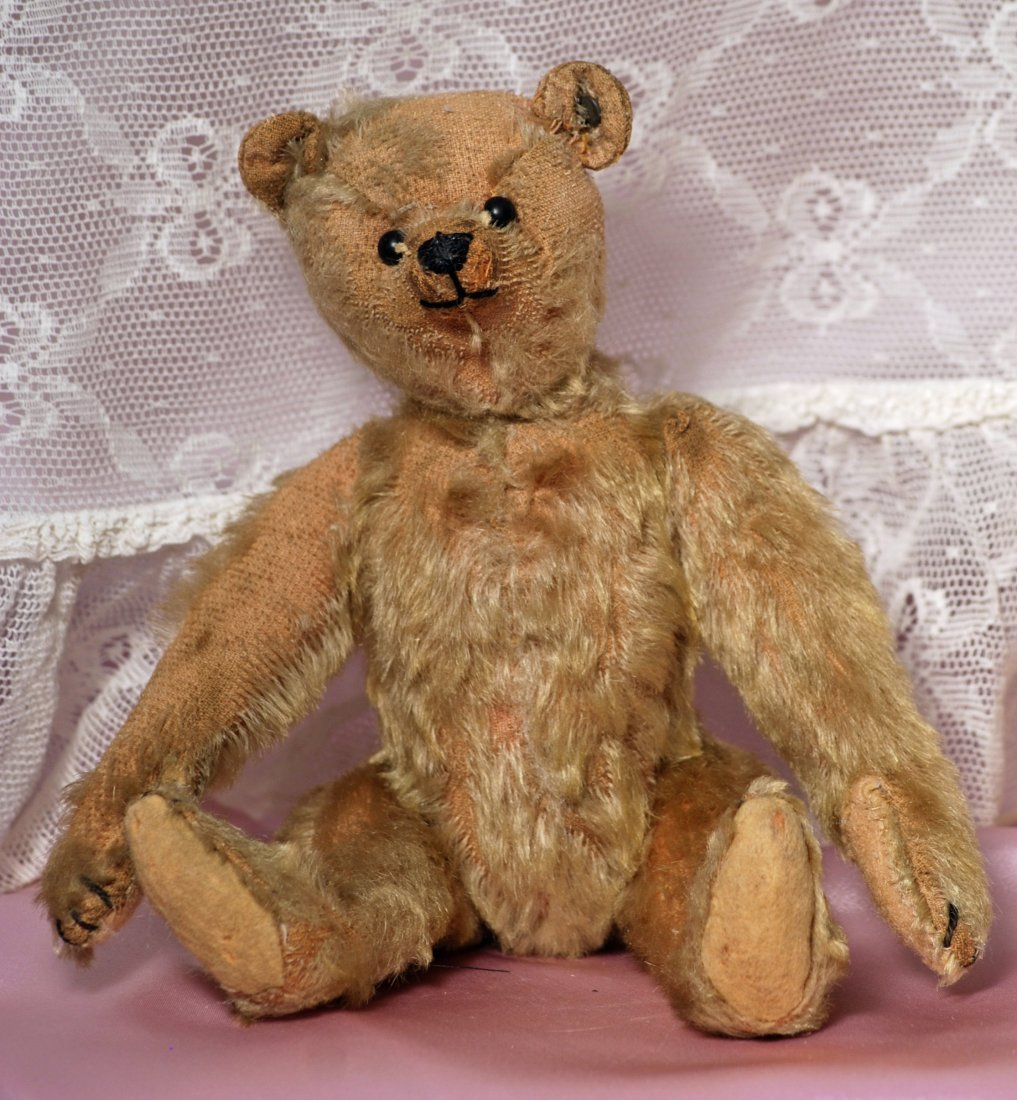 EARLY STEIFF TEDDY BEAR WITH BLANK EAR BUTTON - 2